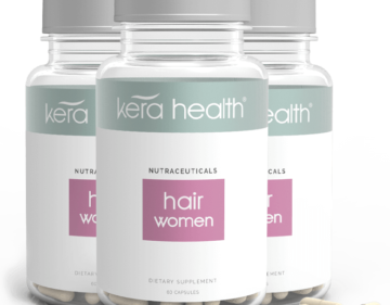 KeraHealth Hair Vitamins for women - 3 months supply