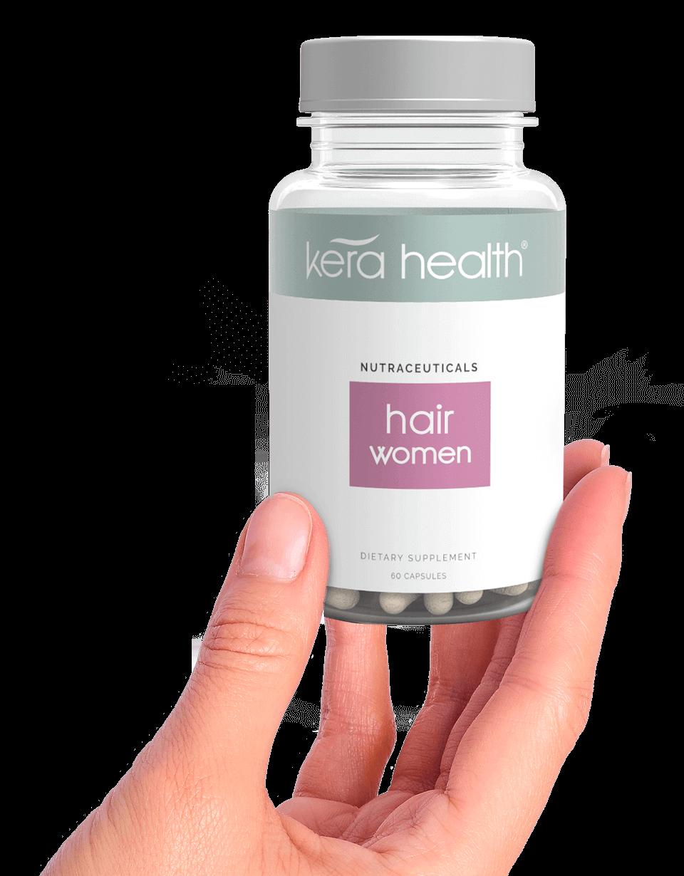 KeraHealth Hair Vitamins Bottle