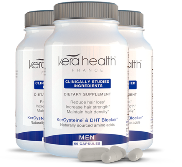 KeraHealth Hair Supplements for men - 3 months supply