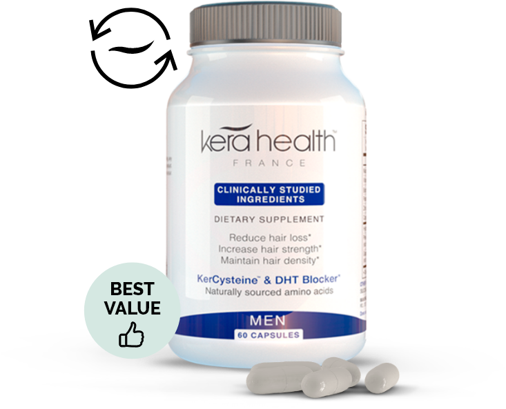 KeraHealth Hair Vitamins for Men