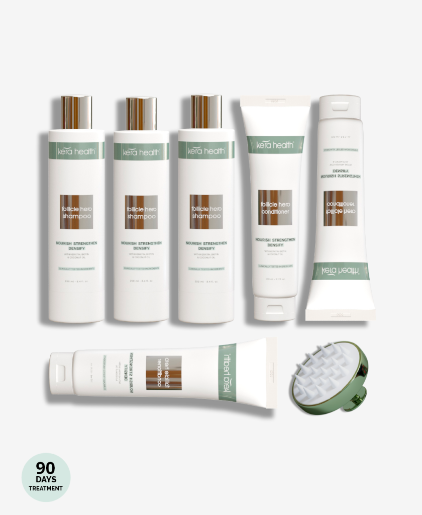 KeraHealth Shampoo + Après-shampoing - 3 Months Supply