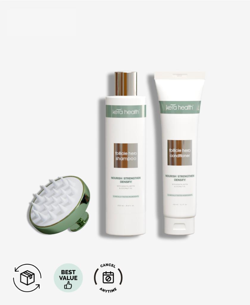 KeraHealth Shampoo + Après-shampoing